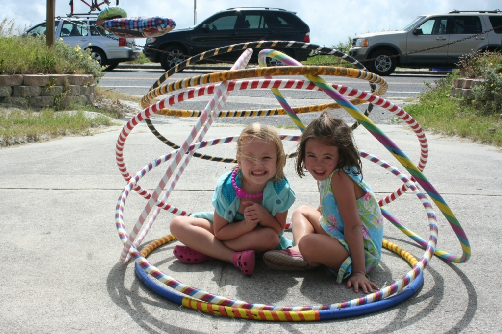 Hoop Parties! Perfect for a birthday celebration!